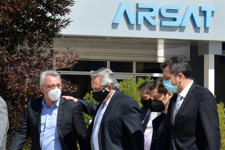 Julio Zamora participó junto a Alberto Fernández del lanzamiento del Plan Nacional de Conectividad