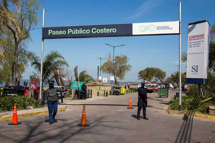 Mega operativo en San isidro por el día de la primavera