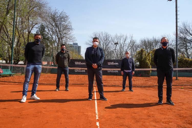 El tenis ya cuenta con protocolos de seguridad en Vicente López