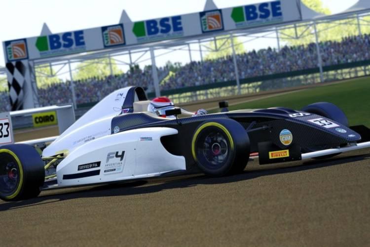 La FIA F4 Argentina ya cuenta con su plataforma para sim racing eSports