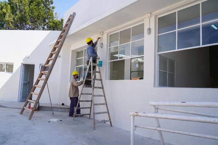 Avanzan las obras en el Polo Educativo de Vicente López