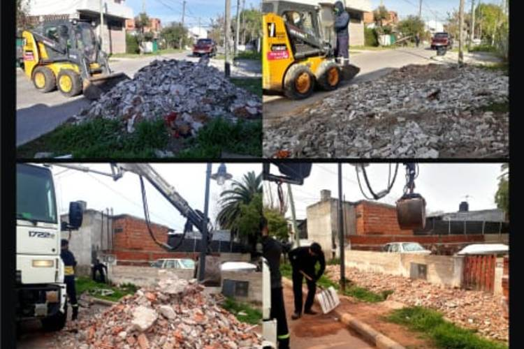 Avanza en todo Tigre el operativo Mi barrio limpia