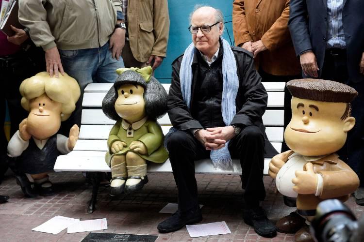 Murió Quino, el dibujante y humorista gráfico padre de la emblemática Mafalda