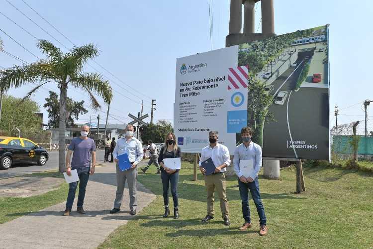 Nuevo Túnel de Av. Sobremonte: Andreotti firmó convenios con AySA y ADIF para iniciar obras preliminares