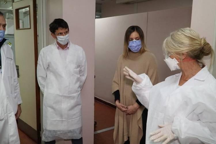 San Isidro participa de una investigación para disminuir el contagio de Covid en el personal de salud