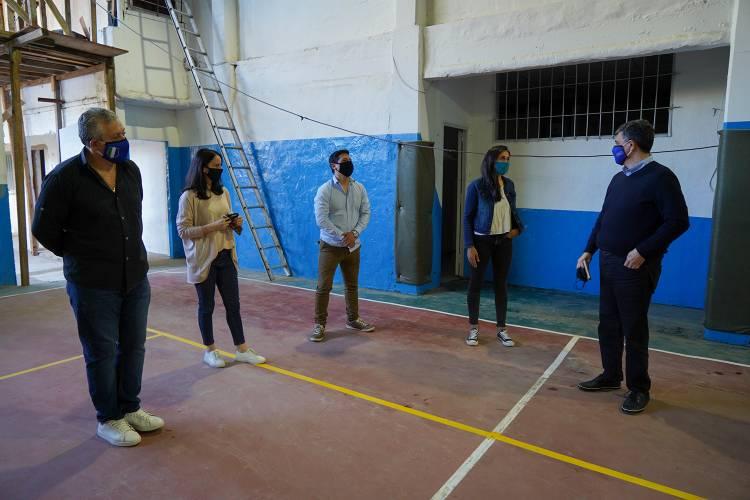 Renuevan instalaciones del Club Suva de Villa Adelina