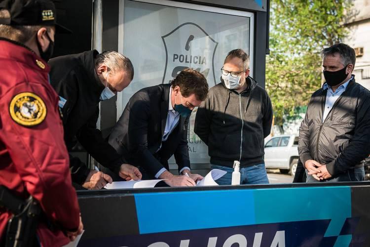 Ciudad y Provincia firmaron acuerdo para fortalecer seguridad en la avenida General Paz