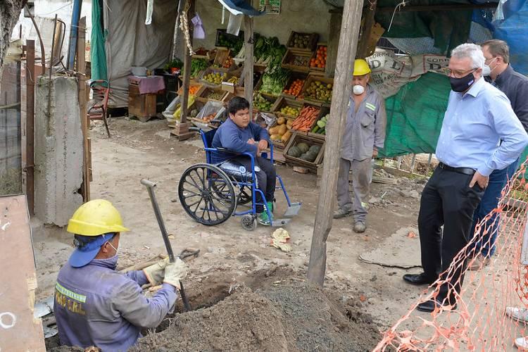 Tigre avanza con obras de gas, veredas y seguridad en más localidades