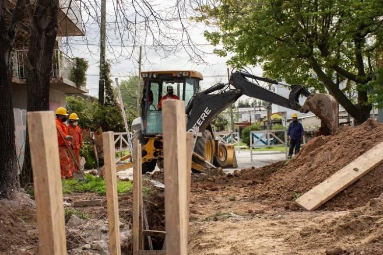 En Tigre avanza una obra de cloaca que beneficiará a 10.000 vecinos