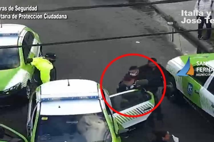 San Fernando: Detienen a un asaltante armado que robó en la vía pública