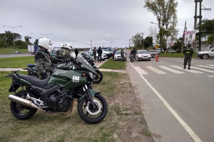 Nuevos controles en la Panamericana para evitar picadas de motos