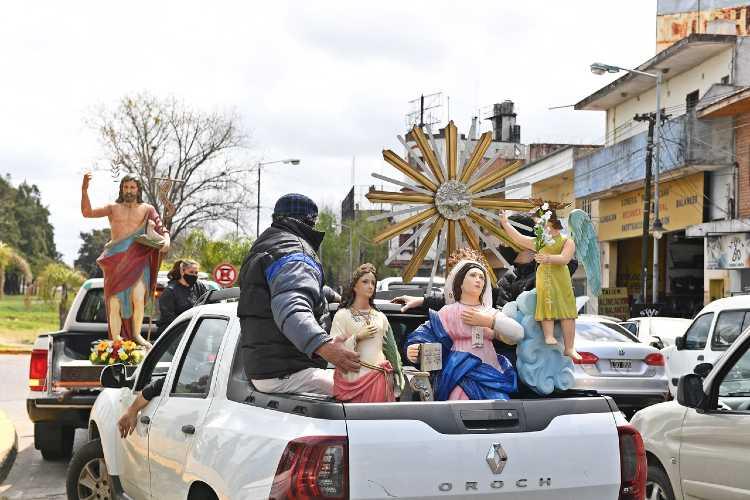 San Fernando celebró la fiesta de Santa Teresita, Patrona de Virreyes