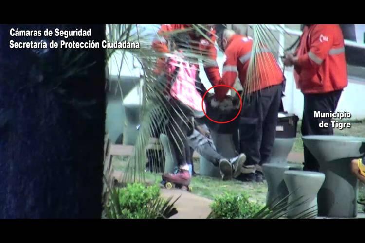 Un tótem de seguridad permitió asistir a un joven accidentado en Rincón de Milberg