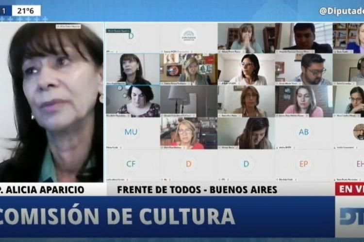Alicia Aparicio presentó un proyecto que declara de interés el bicentenario de la provincia