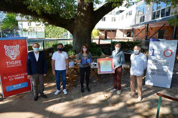 Tigre: El Club Regatas L Aviron festejó su centésimo aniversario