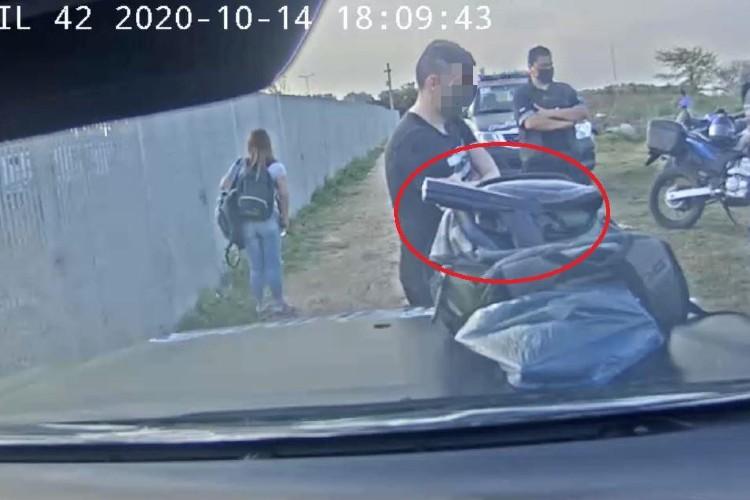 Vicente López: Dos detenidos y un arma incautada