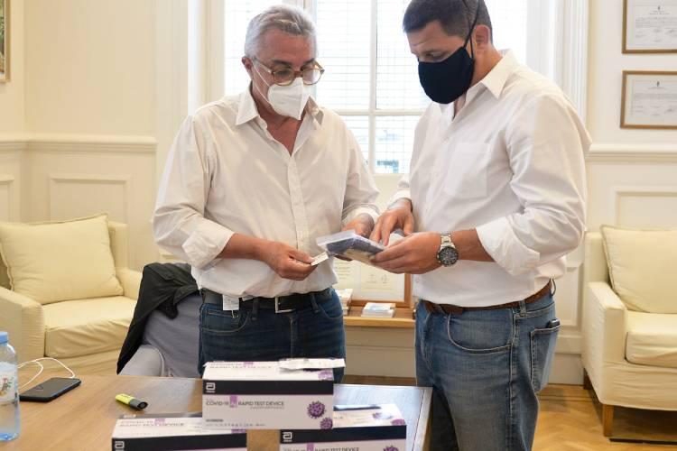 Tigre, primer Municipio del país con test rápidos para detectar el coronavirus