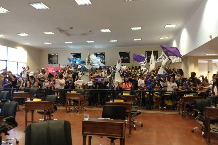 La disputa por una banca generó momentos de tensión en el HCD de Tigre