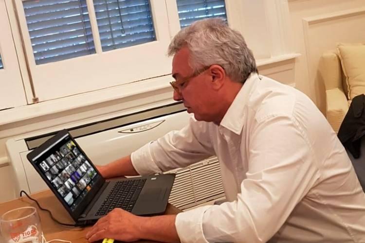 Julio Zamora reconoció la labor de cooperadoras escolares de Tigre mediante una reunión virtual