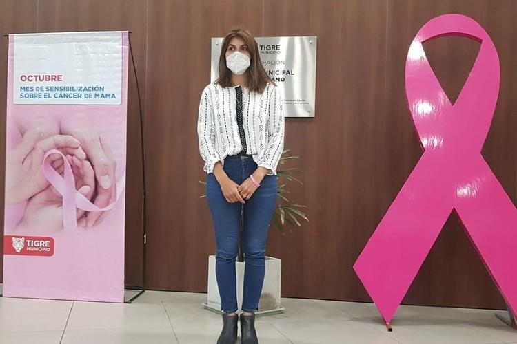 Tigre concientiza sobre controles médicos para prevenir el cáncer de mama
