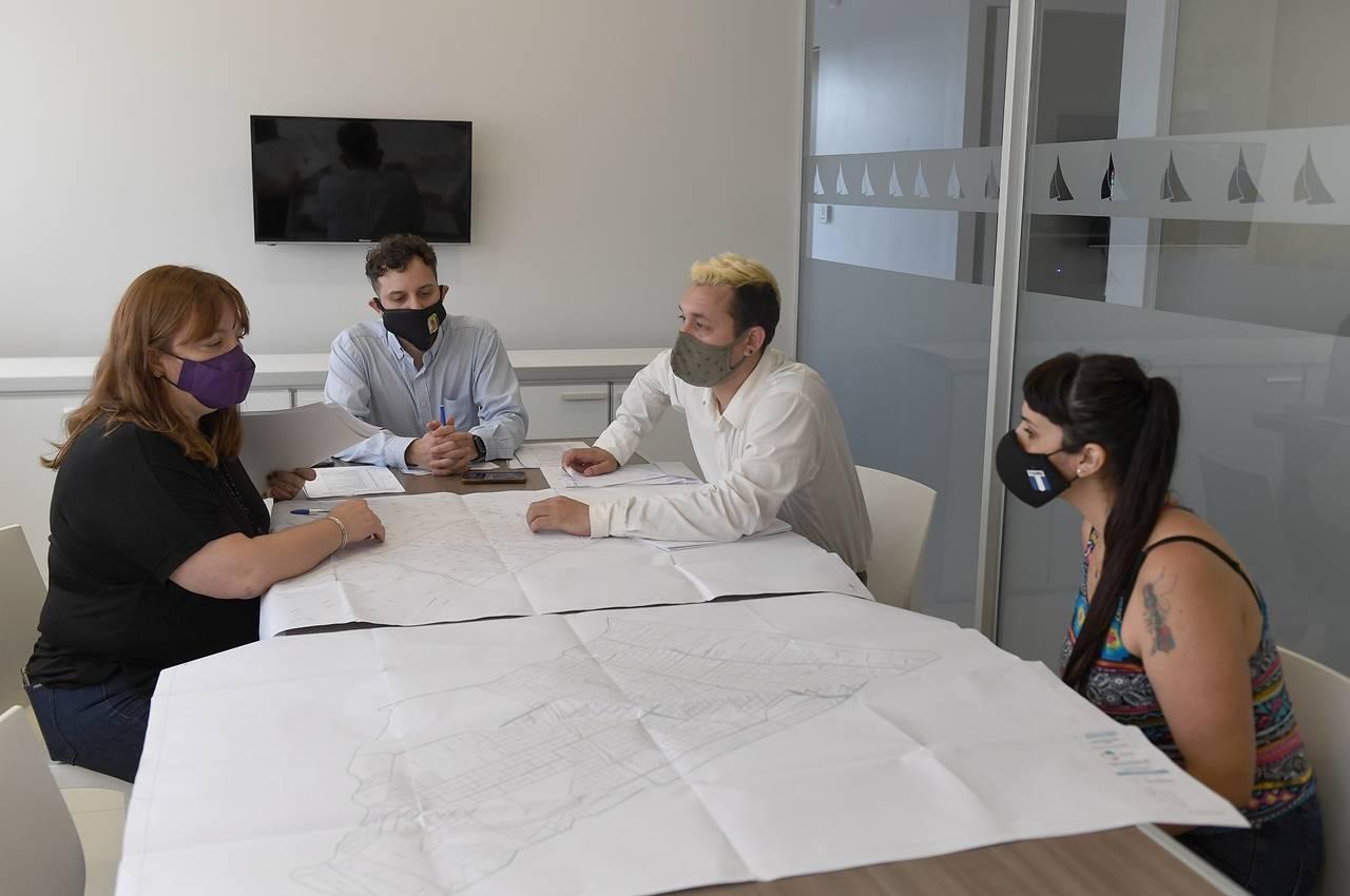 San Fernando trabaja en el pre censo de actualización de domicilios
