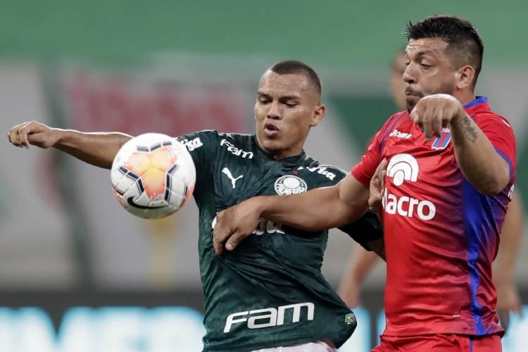 Tigre se quedó afuera de todo ante Palmeiras