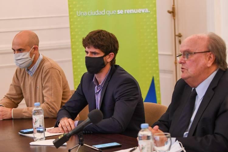 Juan Andreotti y José De Mendiguren anunciaron créditos para pymes y empresas náuticas de San Fernando