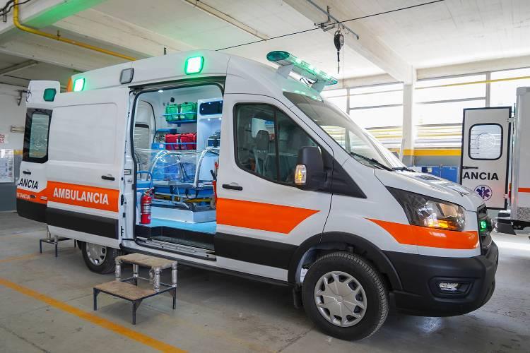 Vicente López incorpora una nueva ambulancia anti COVID-19