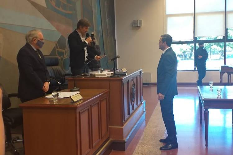 Marcos Tenaglia asumió como Concejal en Tigre