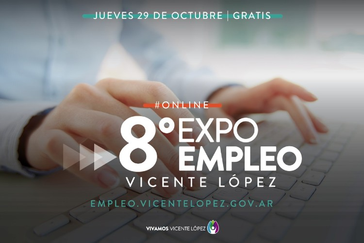 Vicente López: Nueva edición online de ExpoEmpleo VL