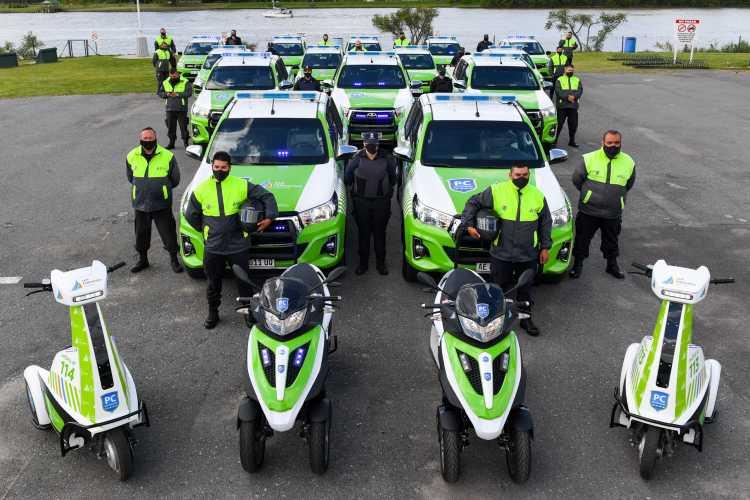 San Fernando incorporó 16 nuevos móviles y cámaras de seguridad