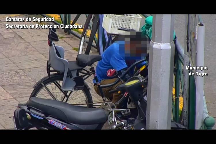 Intentó robar una bicicleta en el centro de Tigre y fue detenido