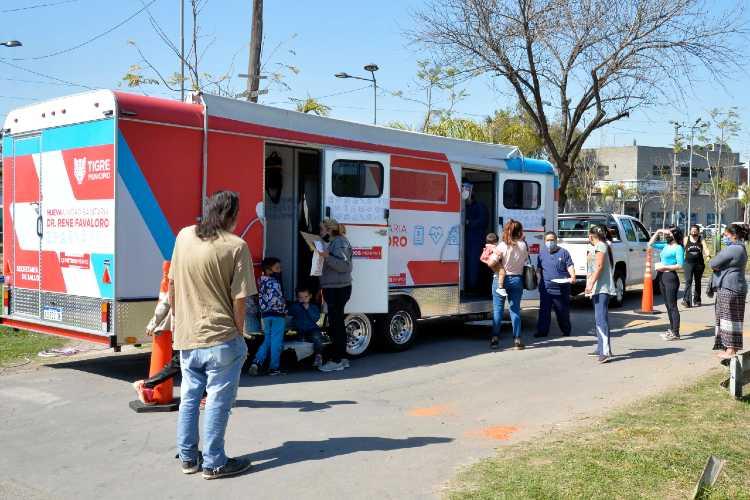 Tigre continúa acercando la salud a los barrios durante noviembre