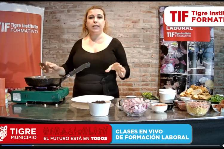 Noviembre inicia en Tigre con nuevos talleres virtuales de formación laboral