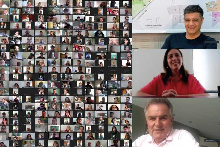 María Eugenia Vidal y Jorge Macri continúan en recorrida virtual por la provincia