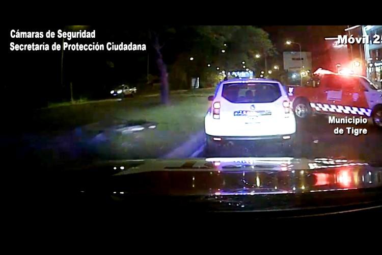 Robaron una camioneta en Tigre y fueron capturados al ser detectados por la cámaras
