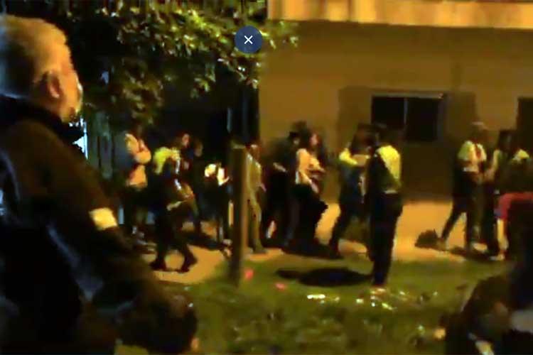 En José C. Paz desbaratan una fiesta clandestina con más de 300 jóvenes