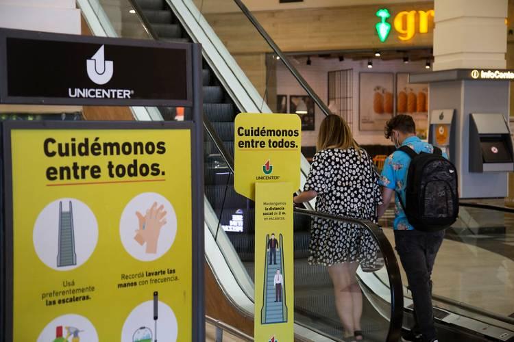 Gustavo Posse recorrió Unicenter para supervisar las medidas de seguridad