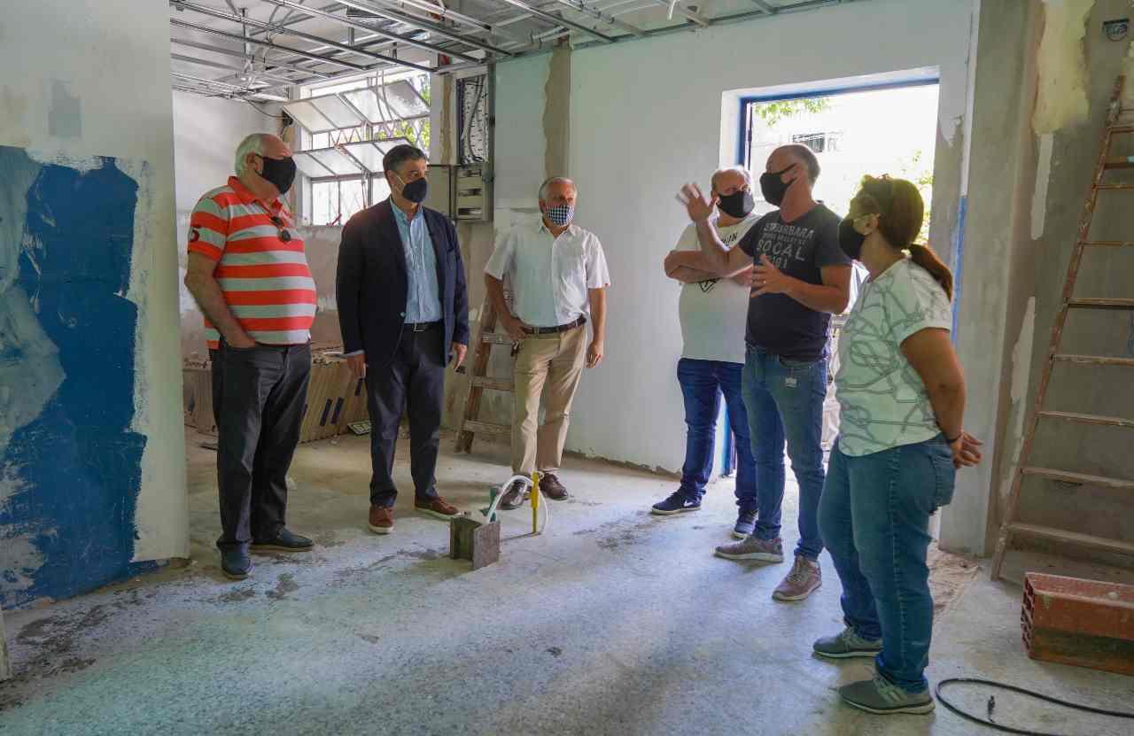 Las obras en la sociedad de fomento 12 de Octubre de Vicente López entran en su última etapa