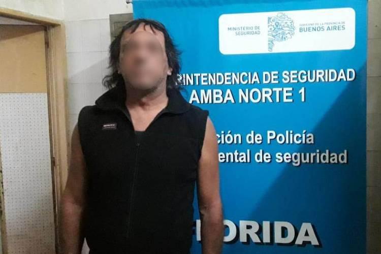 Detienen en Vicente López al hombre denunciado 40 veces por su ex en hechos de violencia de género