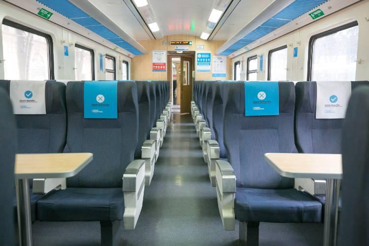 El lunes 23 de noviembre vuelven a circular los trenes de larga distancia