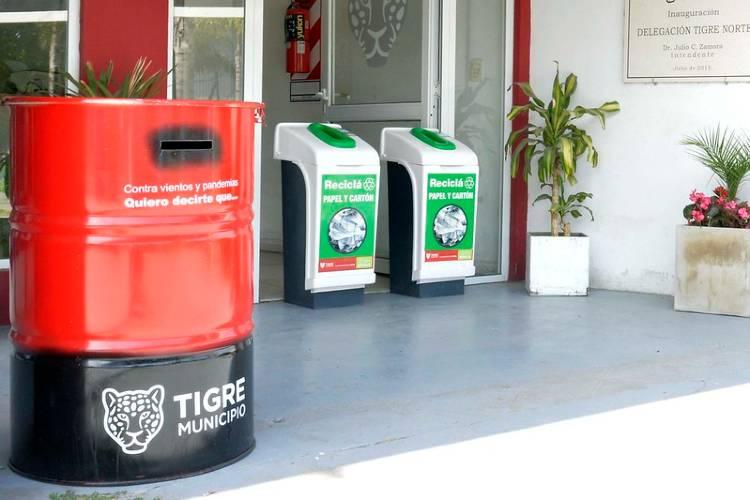Tigre invita a los vecinos a escribir cartas a sus seres queridos