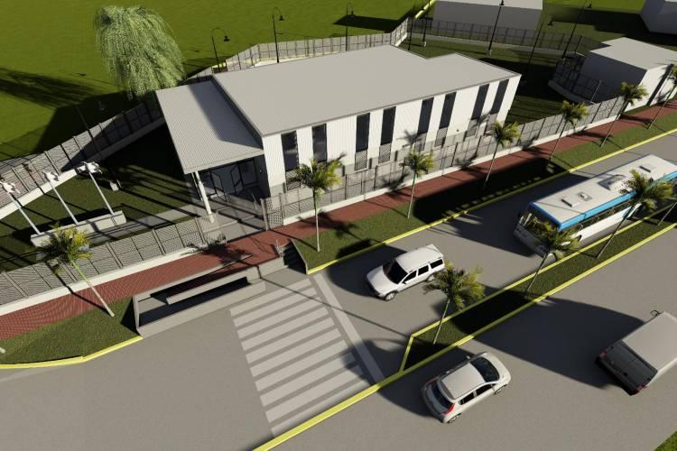 Juan Andreotti anunció la construcción de una nueva Escuela de Oficios Municipal