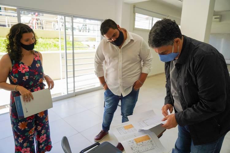Jorge Macri en el CentroUniversitario de Vicente López