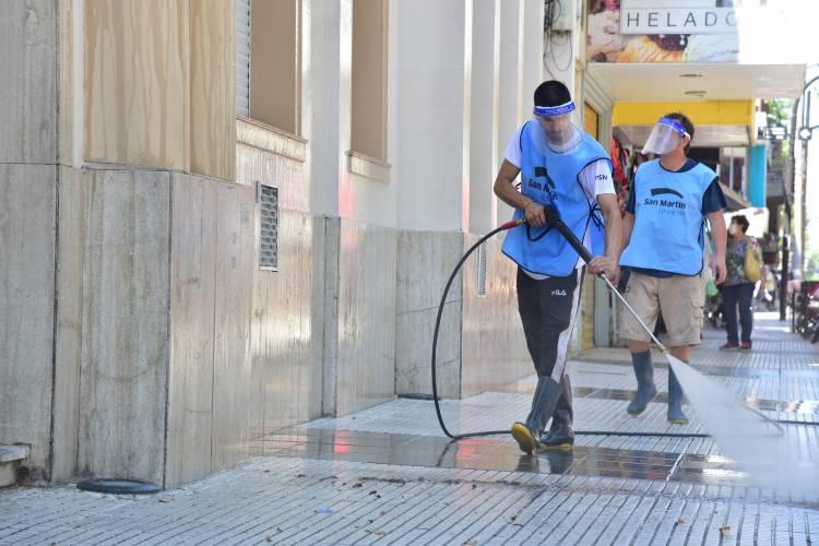 San Martín acompaña a las escuelas en su puesta a punto para un regreso seguro a las clases presenciales