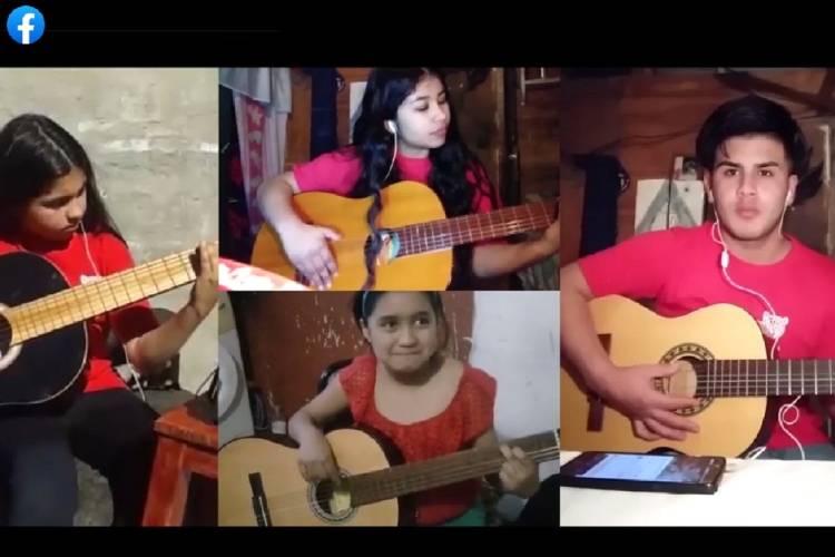 Las Orquestas Infanto Juveniles de Tigre comparten su música en formato virtual