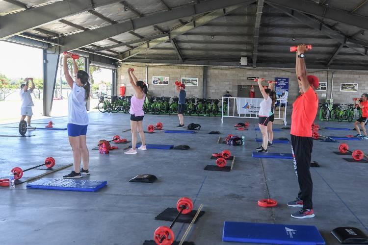 Arrancaron a puro ritmo las clases abiertas de fitness en el Parque Náutico de San Fernando