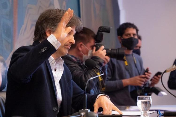 Homenaje a Ricardo Ubieto en el Concejo Deliberante de Tigre