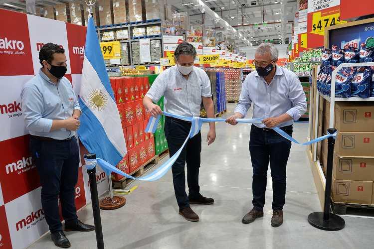 Mayorista Makro abre su nueva sucursal en Benavídez