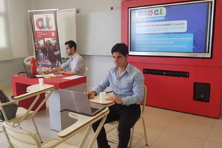 La Expo CUT edición virtual dio a conocer toda la oferta académica de Tigre